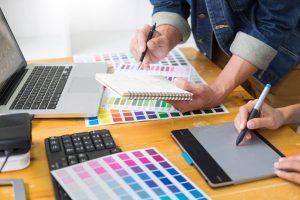 תהליך הדפסה על מוצרים