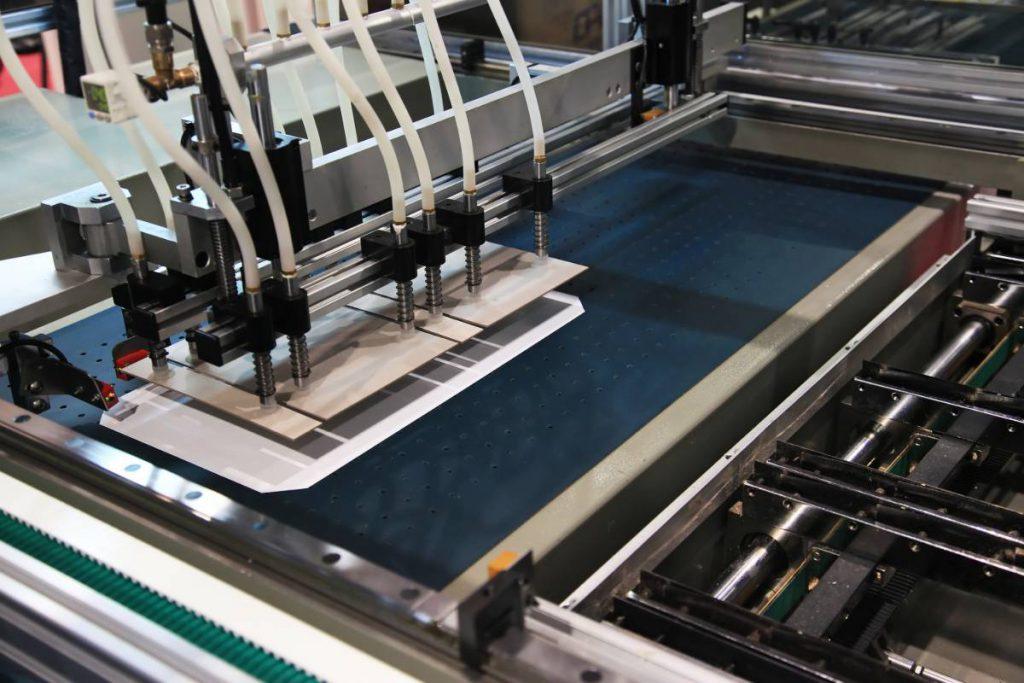 תהליך הדפסה על קנבס